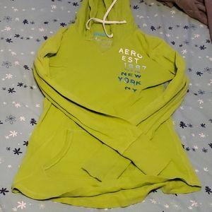 Green aeropostle sweatshirt